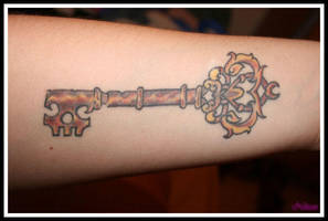 Key Tattoo III by Broken25