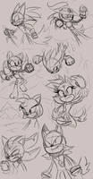 Sonic dominion doodles 3 (Sonic AU) by Ora-Allagis
