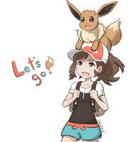 Let's go! by Kirbychu555