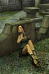 Classic Lara - Taking Cover by Ventrue533