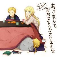 Edward Elric sleeping by lovefma