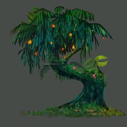 A tree (yeahhh boring I know XD) by Katikut