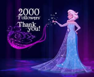 2000 Followers on Facebook! by Katikut