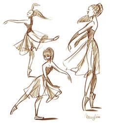 Ballerinas by Katikut