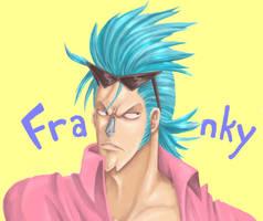 One Piece - Pure Color Franky by AprilPolitano