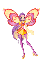 Tine Bloomix design Winx season 6 by Forgotten-By-Gods
