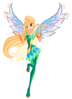 Winx club season 6 Daphne Bloomix by Forgotten-By-Gods