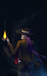 Fan Art: Skulduggery Says... by Genesisnx