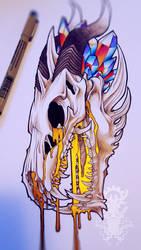 Dragon Skull by Genesisnx