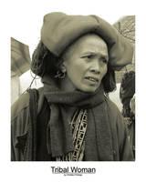 Tribal Woman (Tritone) by r4tm