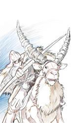 Mononoke Hime by nickchong