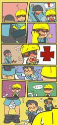 GO! GO! Medic! 2 by TMGR-COMICS-THAI