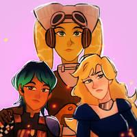 Rebel Ladies by londixX