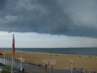 Storm over Beach by Animalluver1985