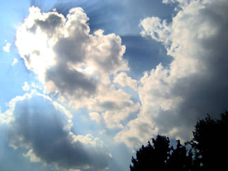Clouds for my Twitter Background by khro