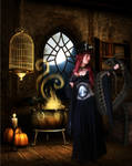 Witch's Pet by lunaperlada