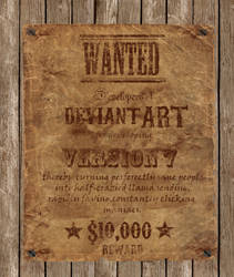 Wanted dA devs-$10K Reward :D by SiNg0d