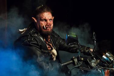 Boar biker by Kosataya
