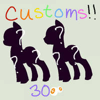 Customs Wow ++ CLOSED for now ++ by pototao