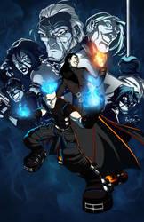 B l u e F i r e - Mangaverse by DarkLP