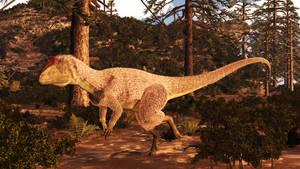 Cryolophosaurus by PrehistoricArt