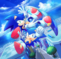 Playing SA2 is habit forming. by natsu-no-hi