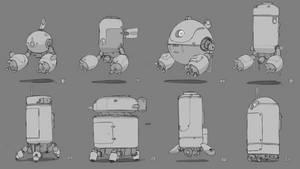 Designs 4 - Robots by DCINoot