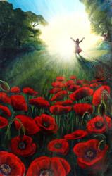 God of hope fills my faith with joy and peace by SigneSandelin