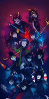 Trolls: Pose As A Team by Karkat-Vantas