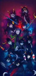 Trolls: Pose As A Team by Karkat-Vantas