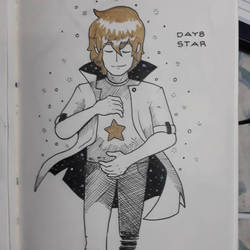 Inktober 2018 Day 8: Star by AdamFegarido