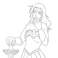 WW: Apple of Discord (lineart) by CaptainKnut