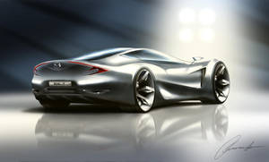 Mazda RX-7 Concept by armandodesign