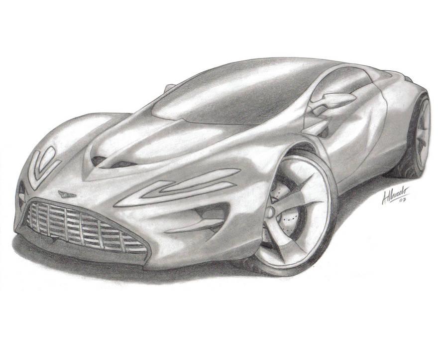 Aston Martin Concept Sketch By Armandodesign On Deviantart