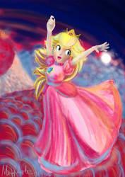 Princess Peach by MiffArte