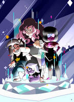 Mr. Universe and the Gems by palahniuksin666