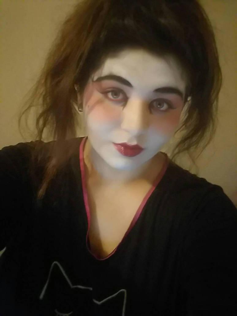 geisha make up with hair by AlysaRhodes413 ...