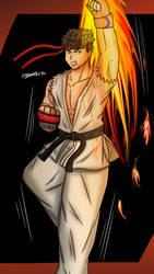(Request) Ryu (Street Fighter) by Darkvictor56