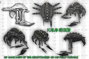 Scarab necron warhammer 40k 3d by jibicoco