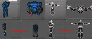 Confusion of 3d models. by jibicoco