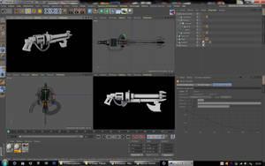 Necron gun gauss work in progress 2 by jibicoco
