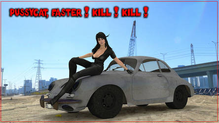 Faster Pussicat Kill Kill by jibicoco