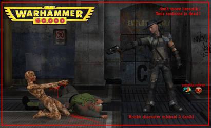 Rouke kill herectik ! damnation character pc game by jibicoco