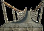 Wooden Bridge 2 | Suspension Bridge 2 | PNG by fumar-porros