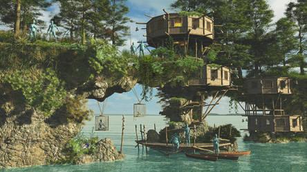 Cannibal Island by fumar-porros
