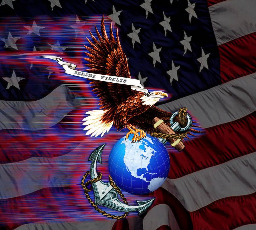 USMC Tribute by Geosammy