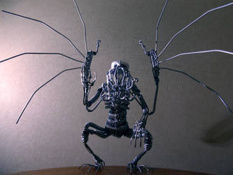 CTHULHU in wire I by TheWallProducciones