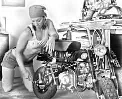 Jen Honda z50 by Bburzycki