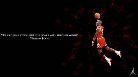 Black Michael Jordan Wallpaper by JaidynM