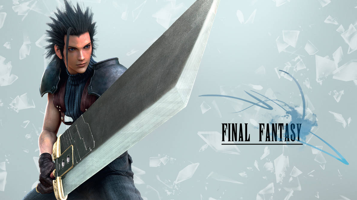 Final Fantasy Wallpaper (Zack Fair) by JaidynM